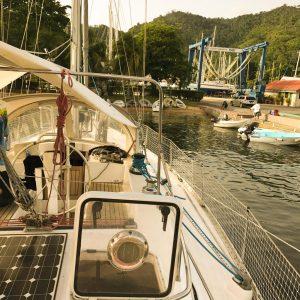 sailboat kitchen