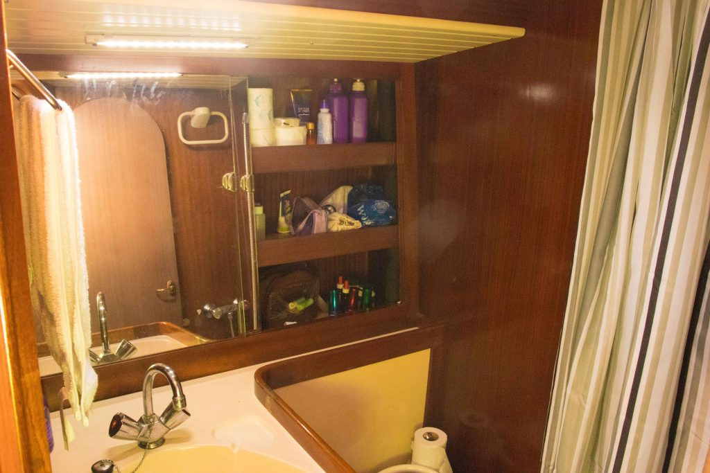 sailboat bathroom
