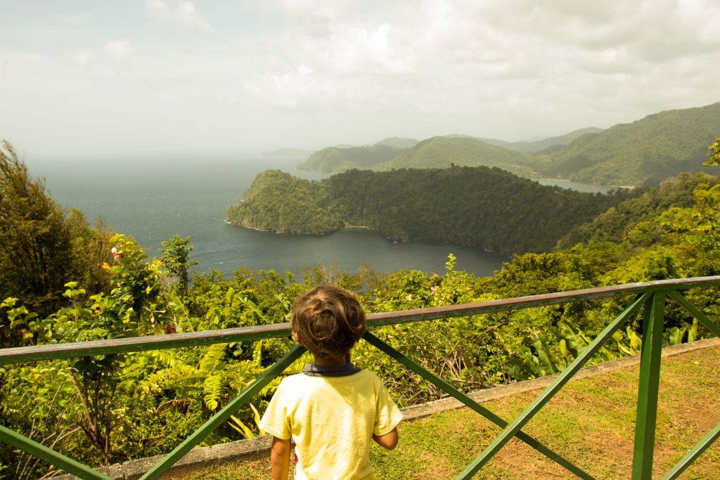 Baía de maracas em Trinidad e tobago