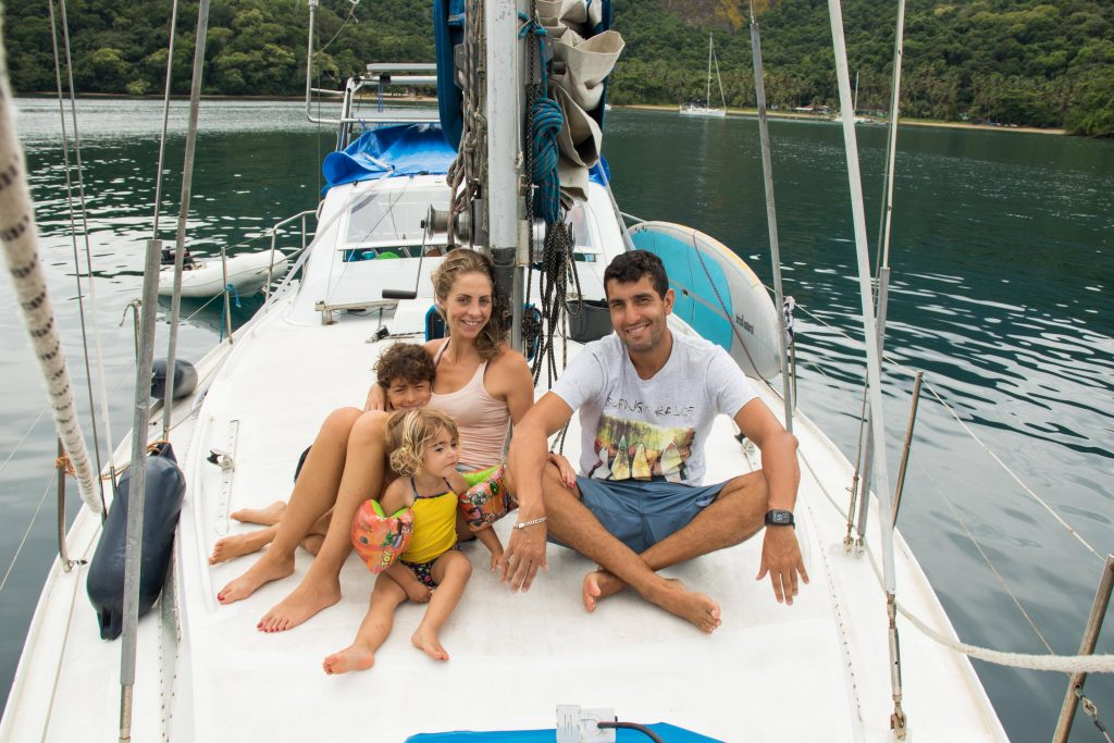 Sailing in Angra dos Reis